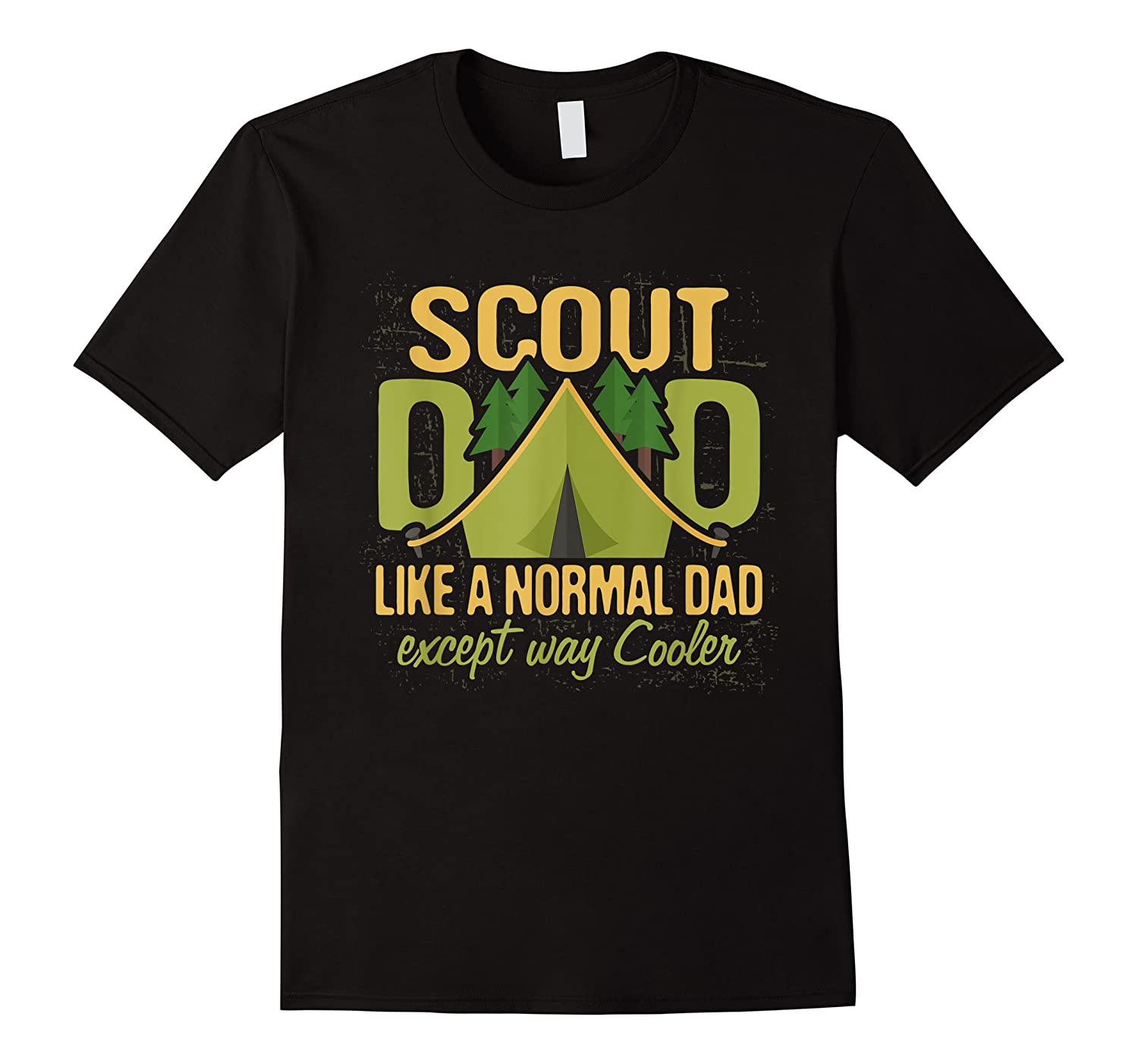 Scout Dad Cub Leader Boy Camping Scouting Gift Shirts