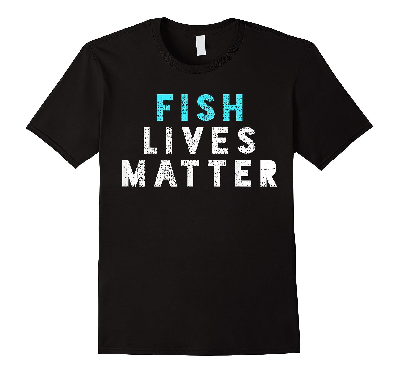 Fish Lives Matter T-shirt Sea Ocean Tshirt Micro Plastic Tee