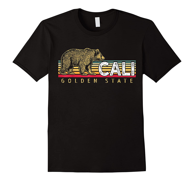 Los Angeles California Bear Retro 70s Vintage Surf Shirts