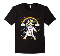 Lgbt Pride Month Unicorn Funny Rainbow Gay & Lesbian Gift Tank Top Shirts Black