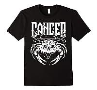 Cancer Hearth Kitchen Witch Shirt Skull Constellation Black