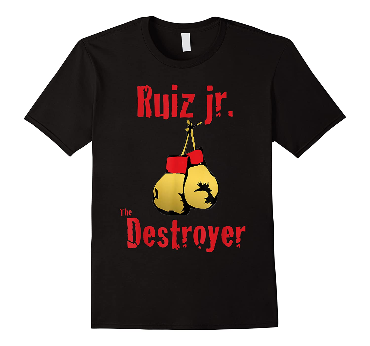 Extended Lunch Break Ruiz Jr The Destroyer Boxing Shirts