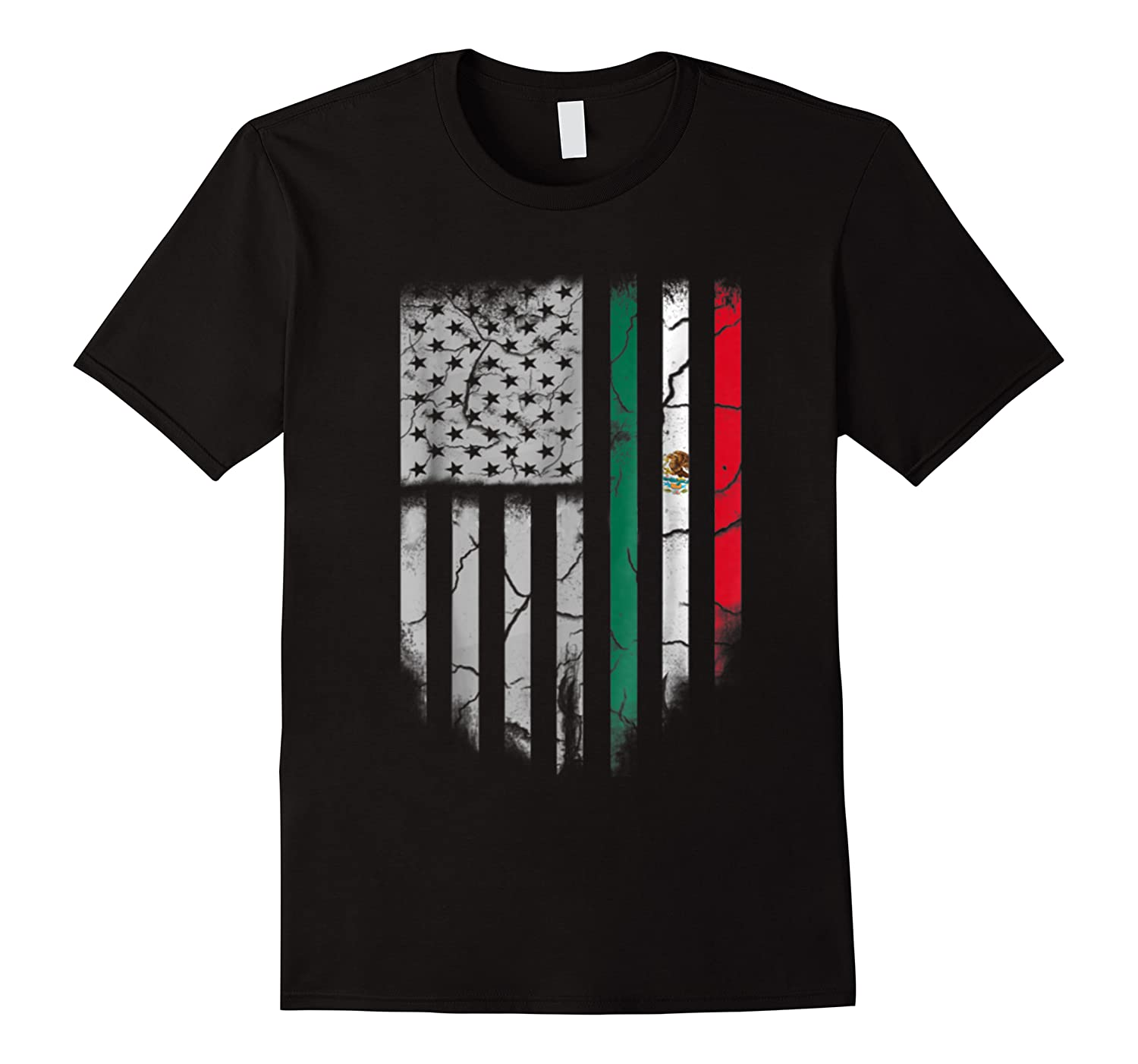 American Raised Mexican Roots Mexican Flag Gift Shirts