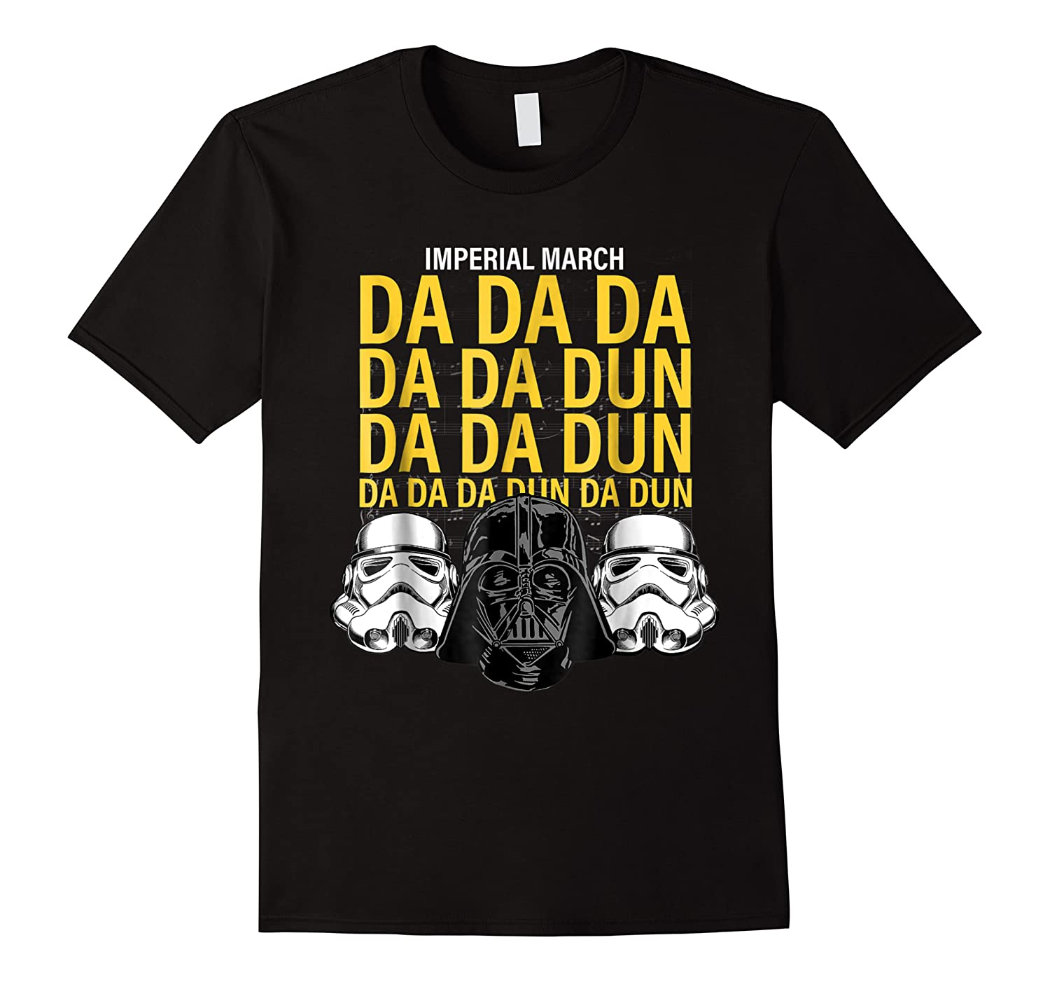 S Darth Vader Imperial March Graphic Shirts