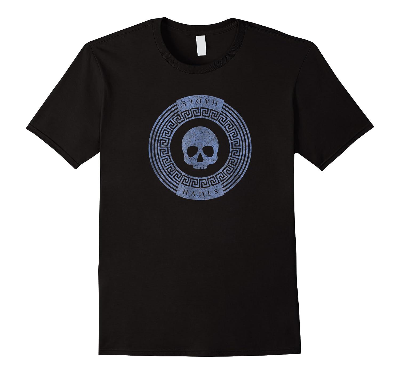 Greek God Hades Skull Symbol Crest Shirts