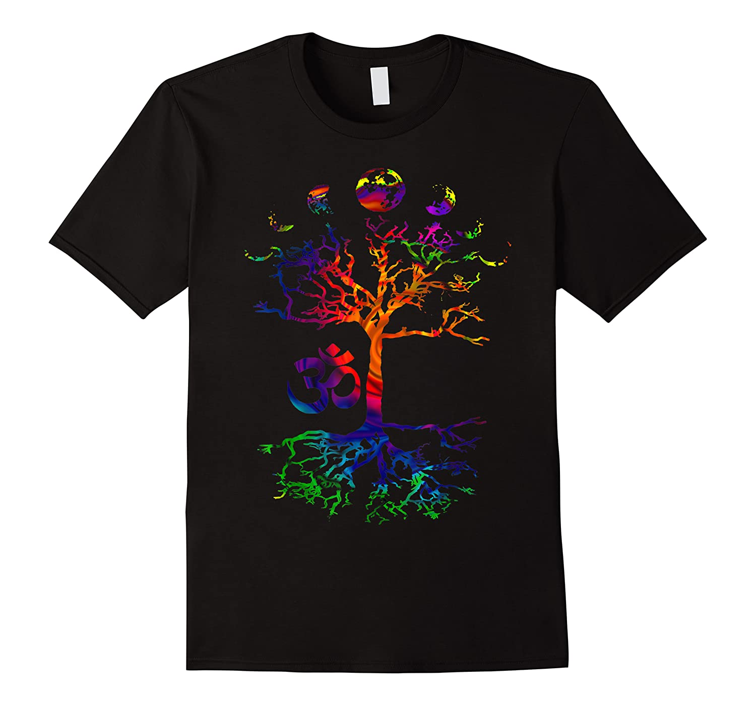 Phases Of The Moon Tree Om Aum Gift Shirts