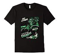 Vintage Halloween Killer Monster Horror Gift Shirts Black