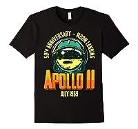 Apollo 11 50th Anniversary Shirts Black