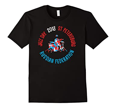 Jazz Day 2018 St Petersburg Russian Federation T-shirt