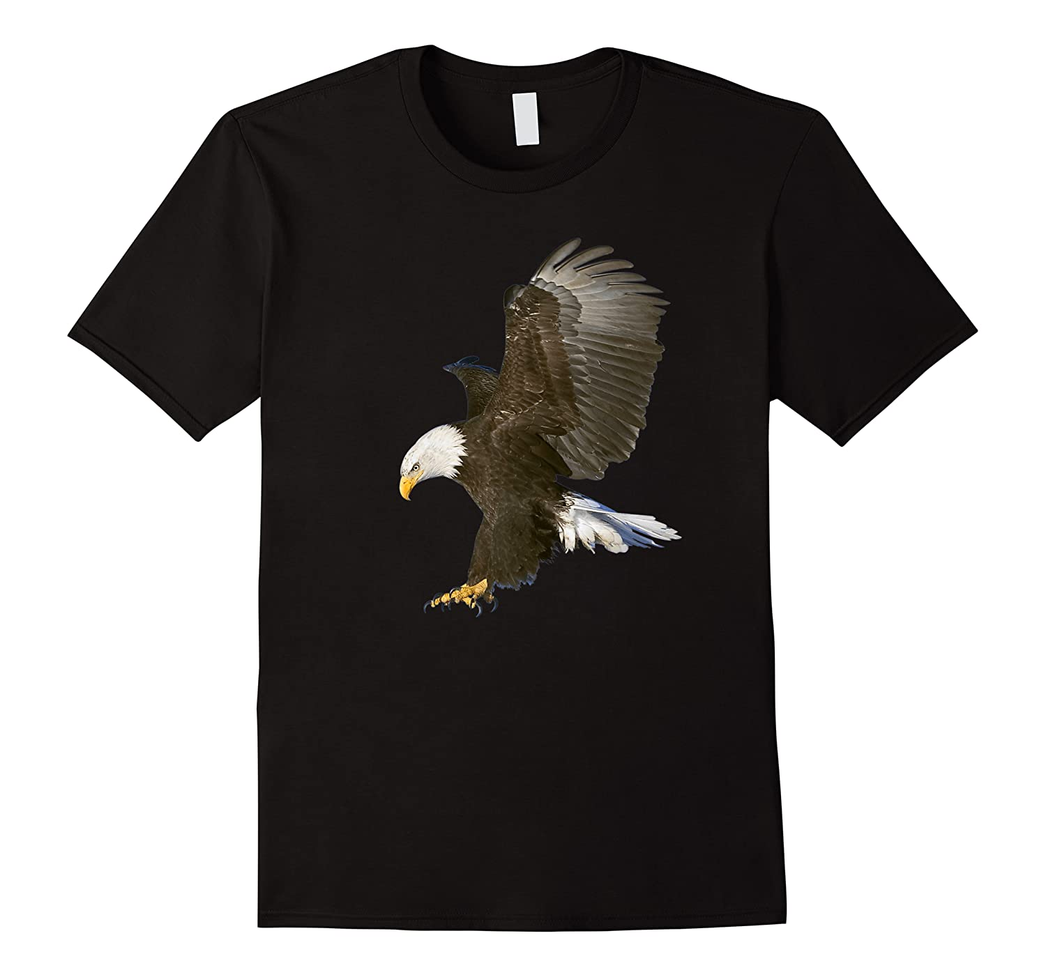 American Bald Eagle Swooping Photo Portrait Shirts