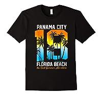 Pa City Beach 2018 Florida T Shirt Beach Lovers Gift Black