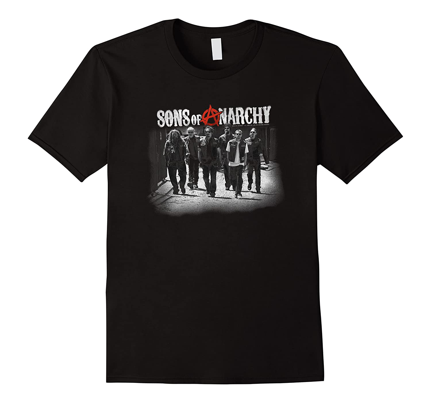 Sons Of Anarchy Rolling Deep T Shirt