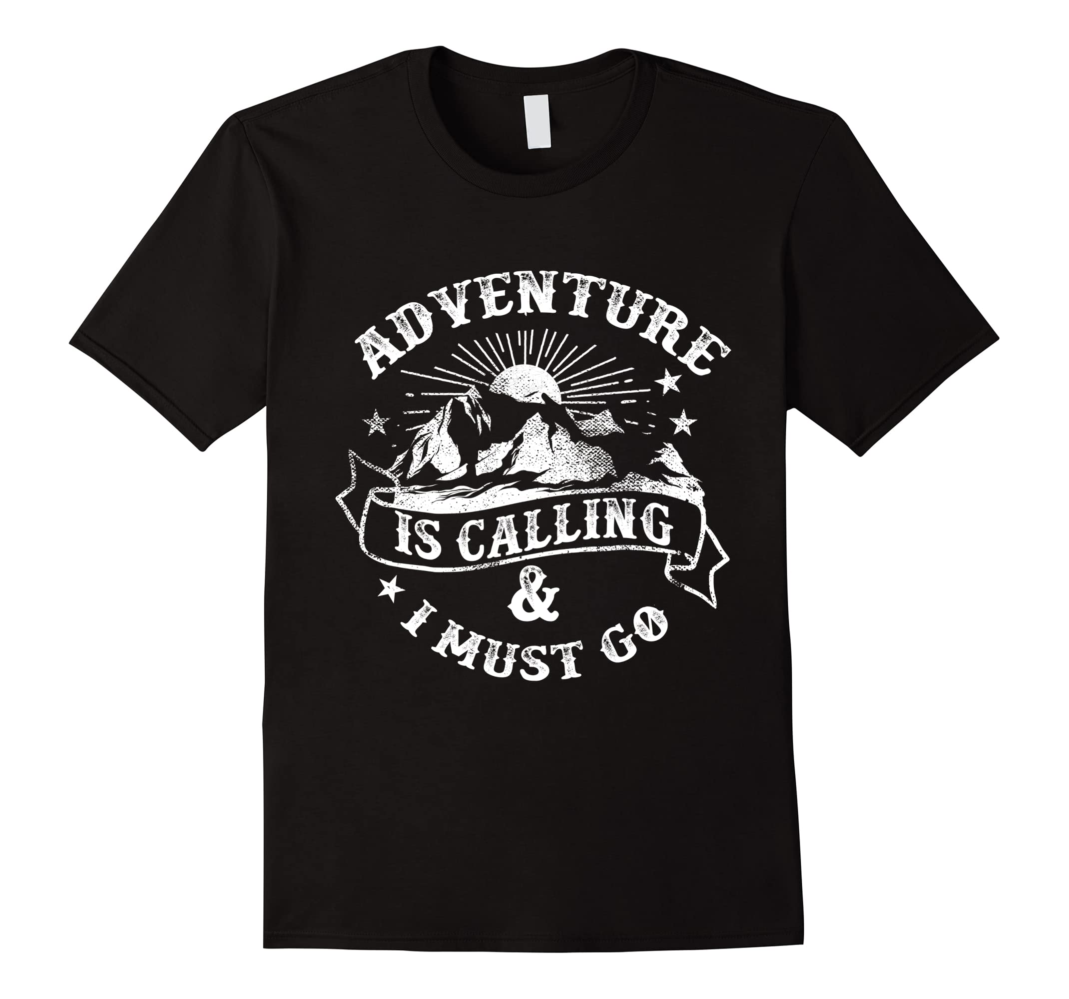 Adventure is Calling DesignT-shirt (Novelty and More)-RT