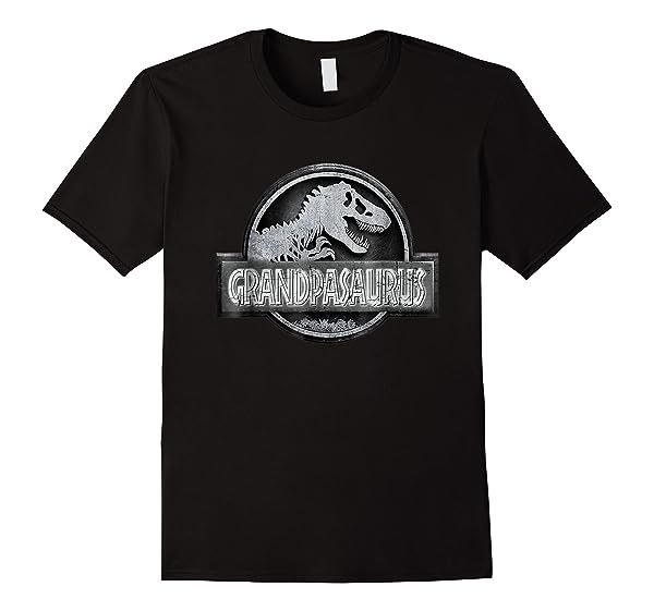 Grandpasaurus Funny Grandpa Dinosaur Pun T Shirt Dinosaur Gi