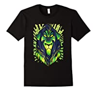 Lion King Evil Scar Graphic Shirts Black