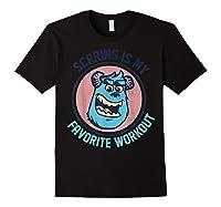 Pixar Monsters University Sulley Face Shirts Black