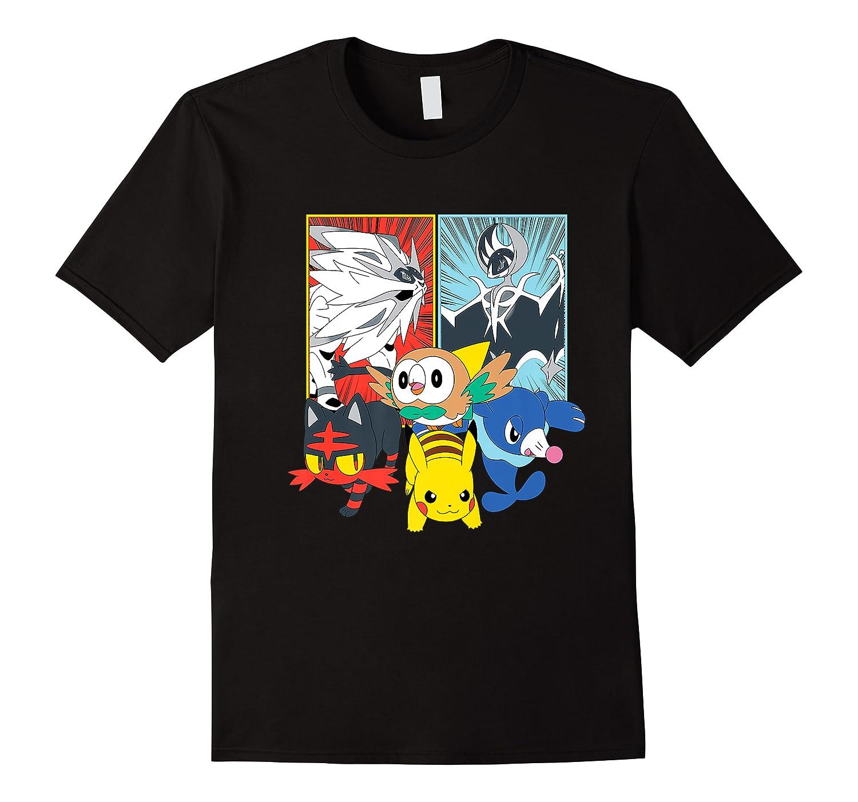 Alola Starters With Legendaries Shirts