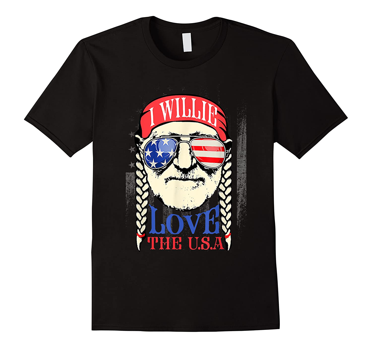 Willie Love The Usa 4th Of July Shirts