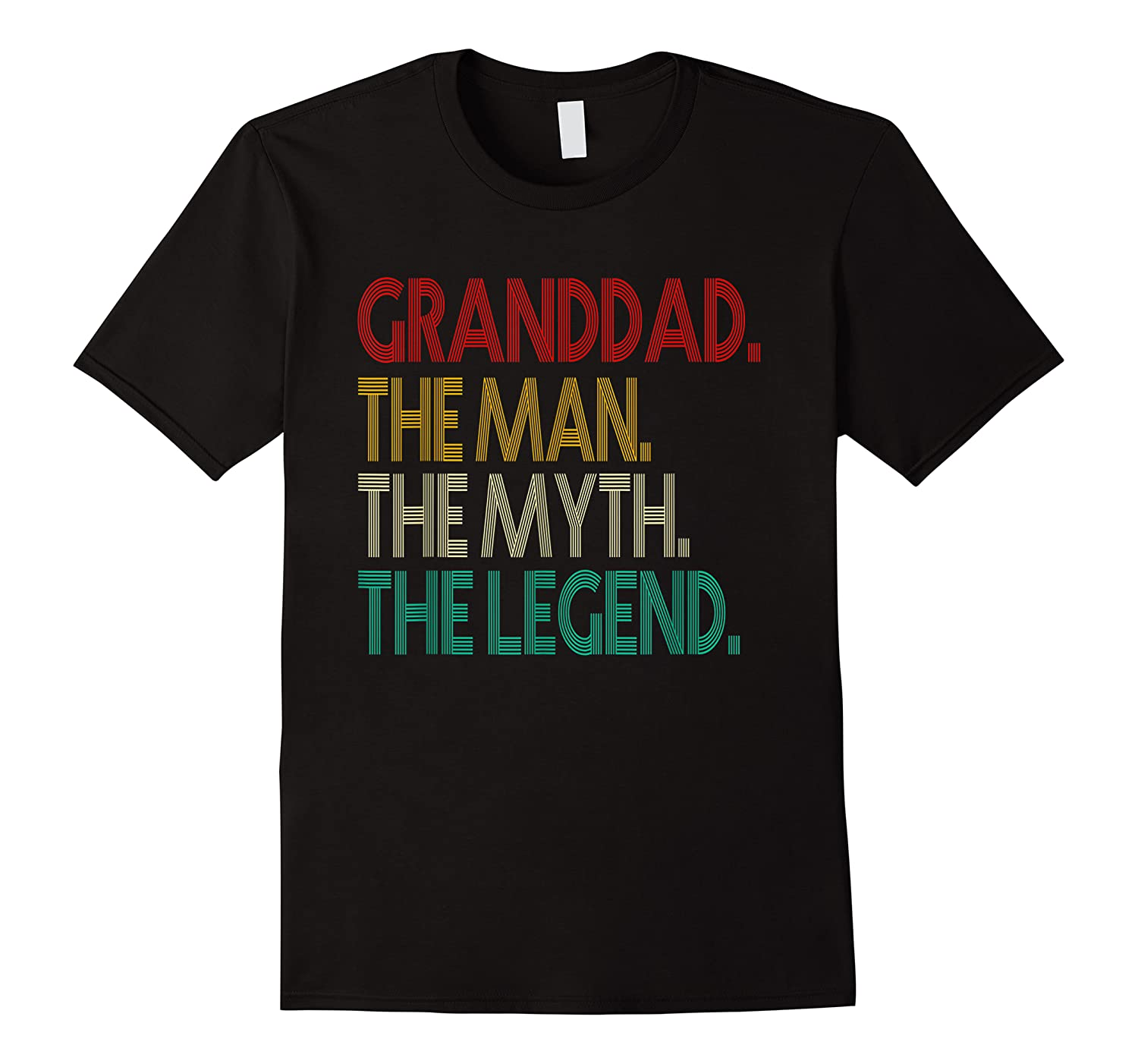 Granddad The Man The Myth The Legend Gift For Grandd Shirts