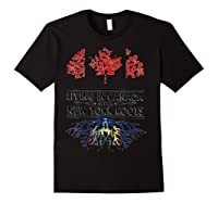 Living In Canada With New York Roots Ny Shirts Black