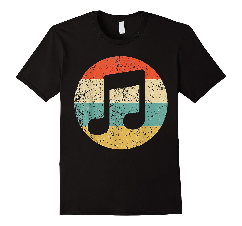 Musician Retro Musical Notes T-shirt