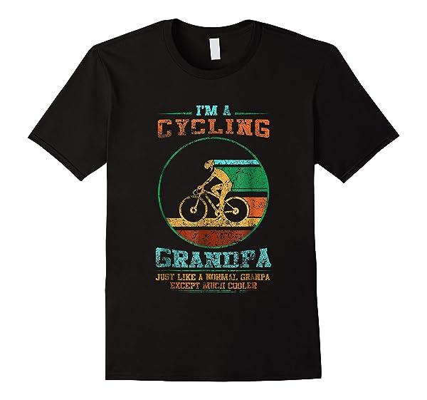 I M A Cycling Grandpa Tshirt Funny Grandpa Cyclist Gift