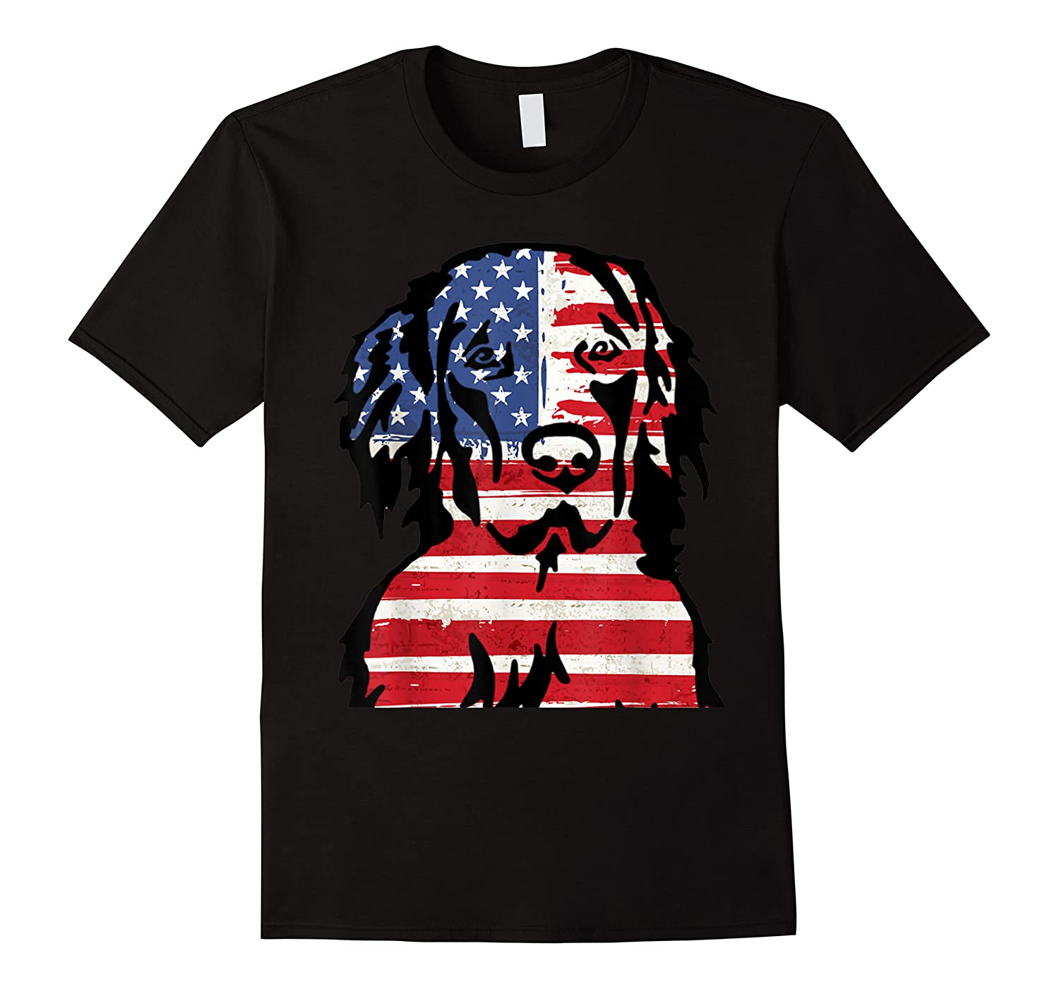 Funny Hovawart American Flag 4th Of July Shirts