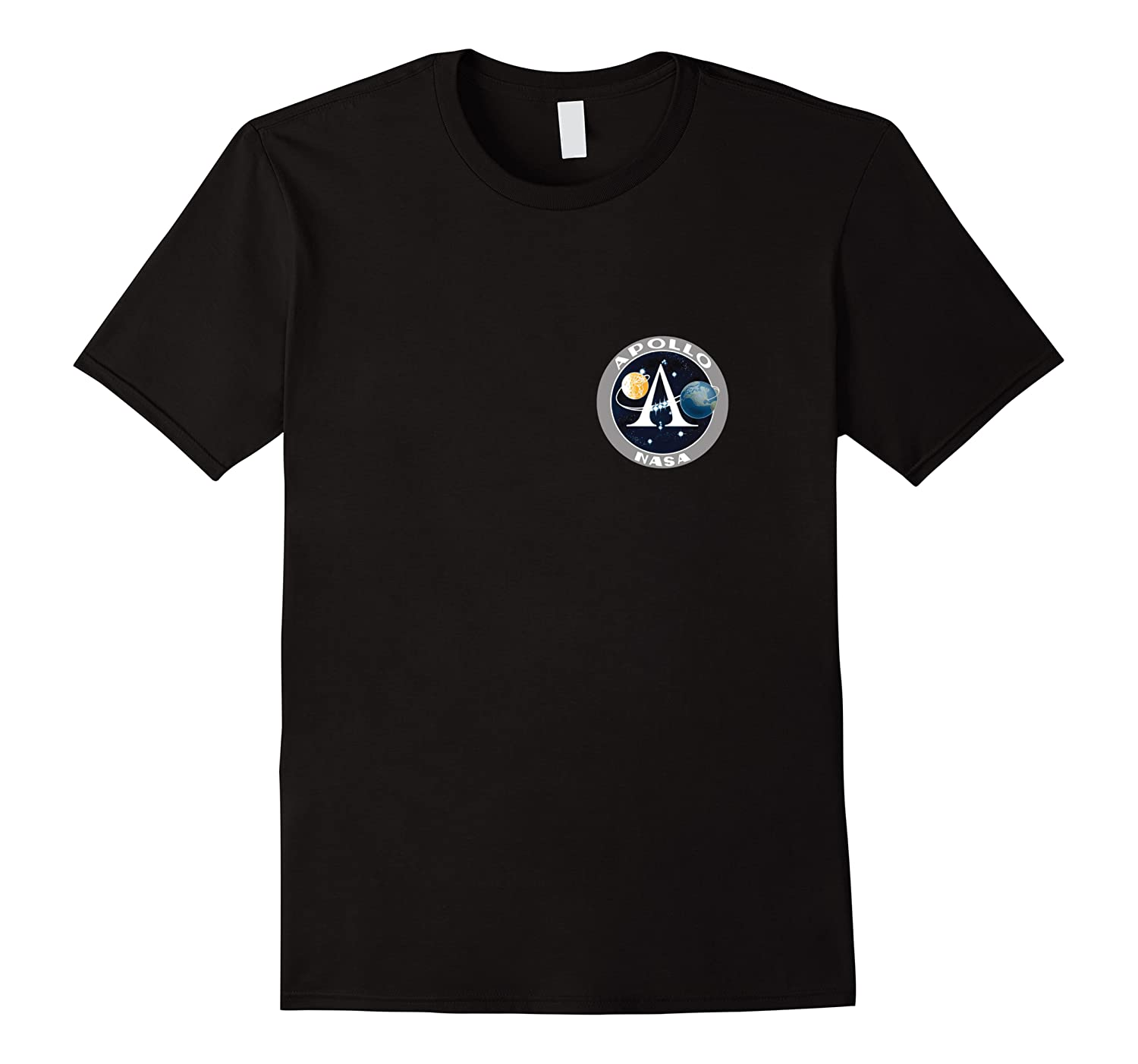 Apollo 11 Space Moon Landing Mission Patch Shirts Men Short Sleeve