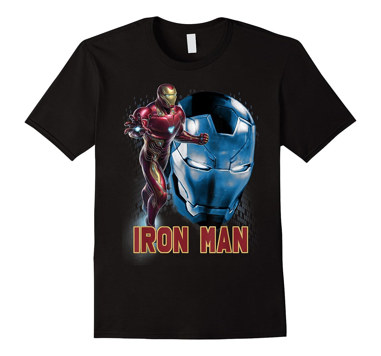 Avengers Endgame Iron Man Side Profile Graphic Shirts