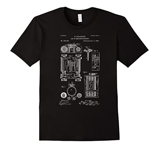 24f8e2b5 Image Unavailable. Image not available for. Color: First Computer Patent T-Shirt  Geek Computer funny gift