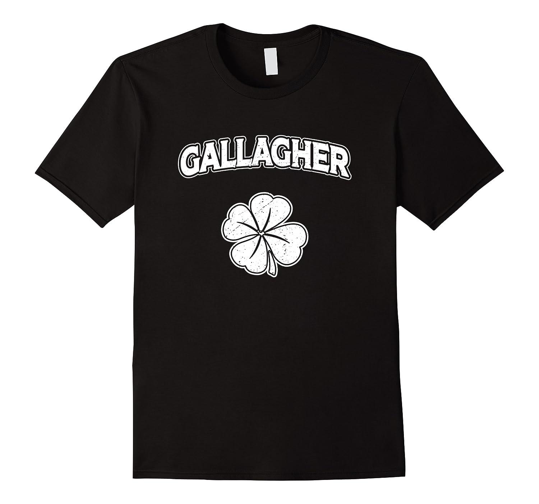 Irish Clover Gallagher St Patrick's Pride Sleeves Shirt Men Short Sleeve