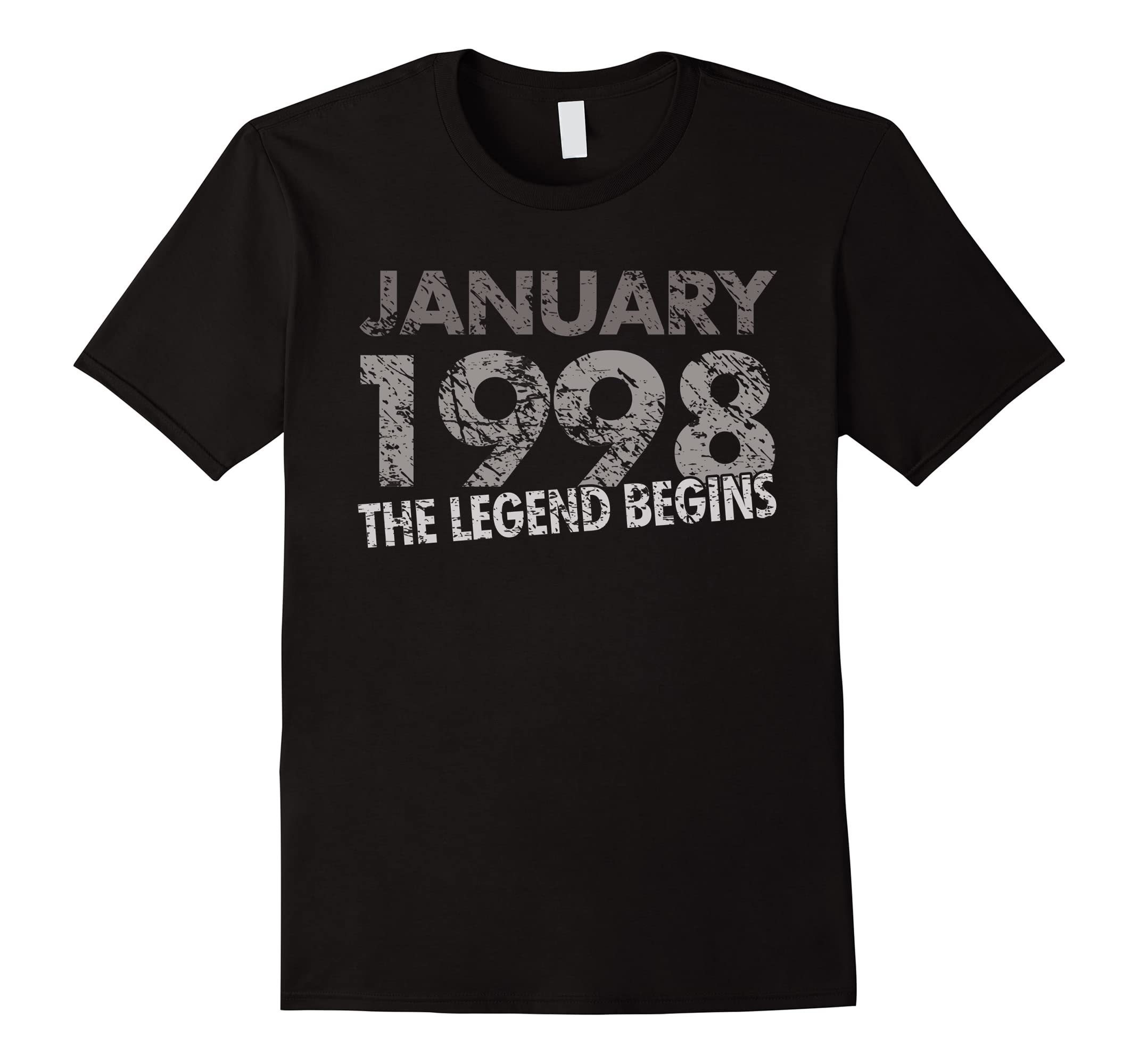 20th Birthday Shirt January Legend-Awarplus