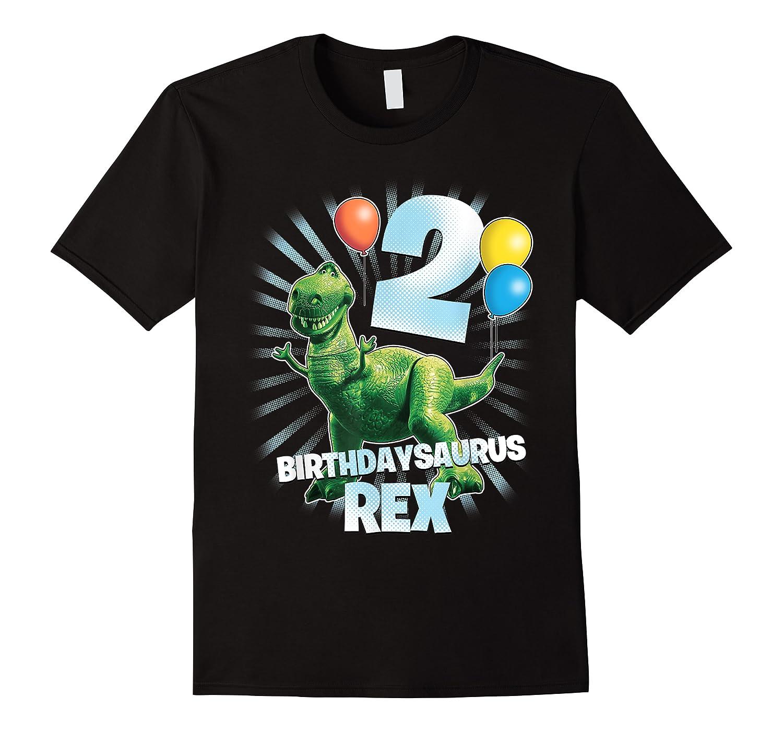Disney Pixar Toy Story Birthdaysaurus Rex 2nd Birthday T-shirt