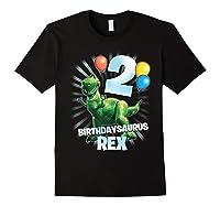 Disney Pixar Toy Story Birthdaysaurus Rex 2nd Birthday T-shirt Black