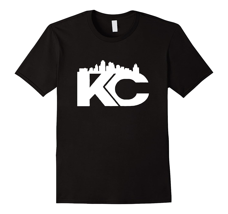 Kansas City Skyline K C Proud Shirt  Men Short Sleeve