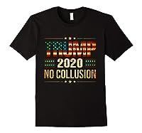 Trump 2020 No Collusion Shirts Black