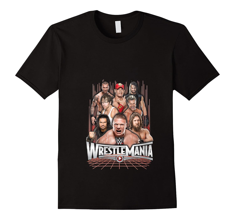 Wrestlemania Group Wwe T-shirt