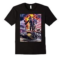 Donald Trump Gold Plated Shirt T-shirt Black