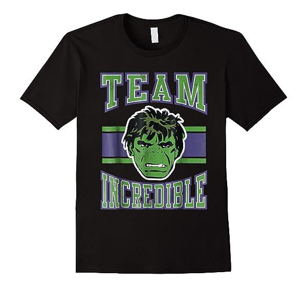 Marvel Classic Team Incredible Hulk Graphic T-shirt