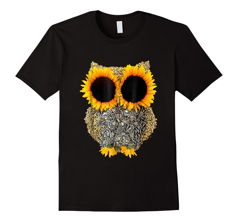 Owl Sunflower Shirt Funny Owl Lovers Shirt