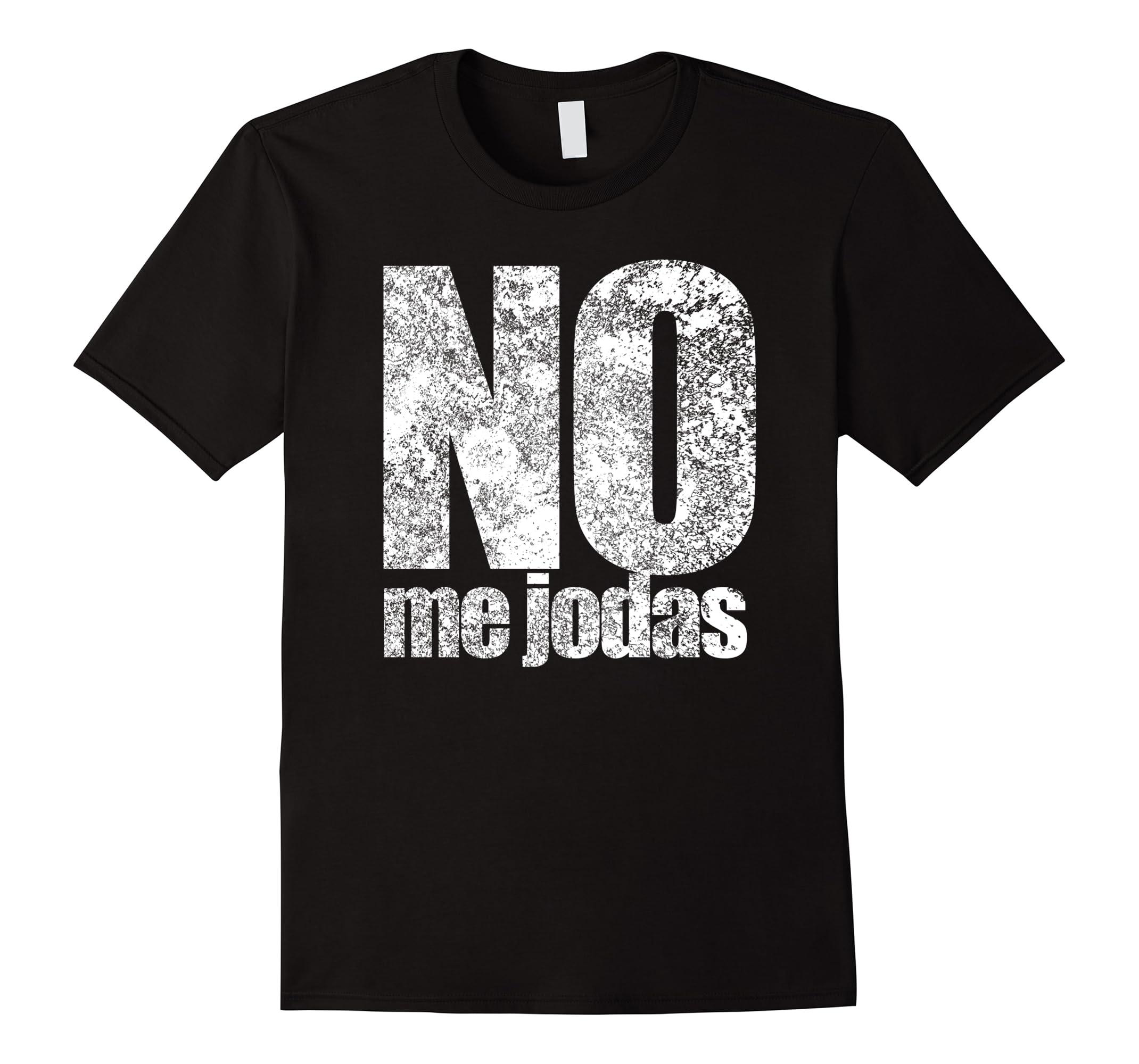 No me jodas espanol latin latino floral vintage tshirt-RT