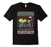 Arnold And Gerald Ugly Christmas Crewneck S Shirts Black
