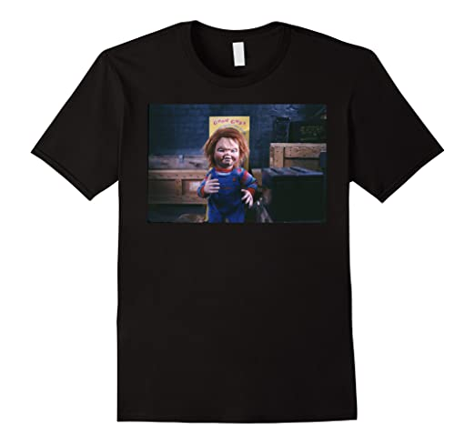 cdb2327c Amazon.com: Chucky 'Good Guys' T-shirt: Clothing