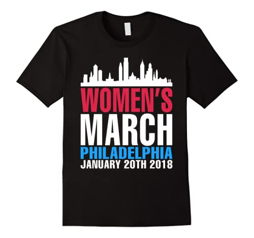 Philadelphia Womens March January 20 2018 Tee Shirt