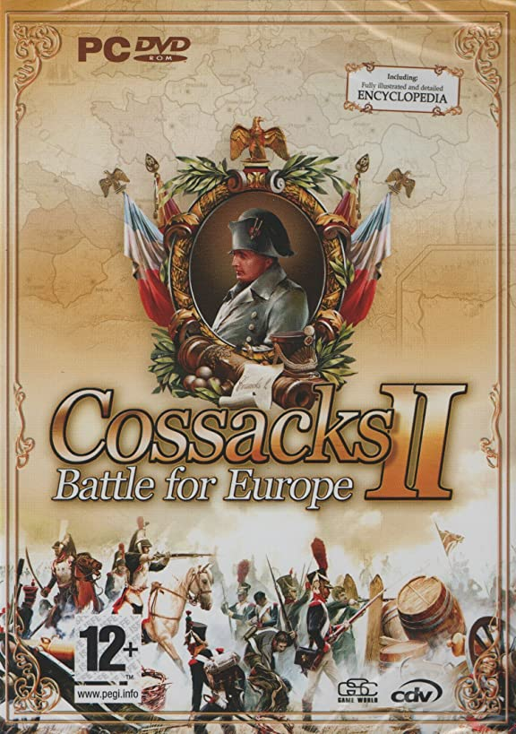 Cossacks II Battle for Europe (PC DVD Real Time Strategy Game) Including : Fully Illustrated and Detailed Encyclopedia