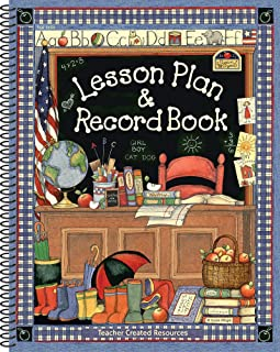 Teacher Created Resources SW Lesson Plan & Record Book