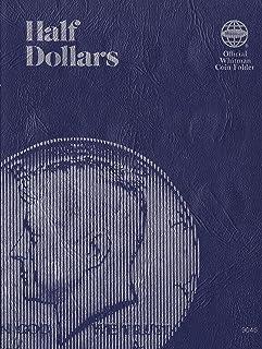 Blank Half Dollar Trifold 36 Coin Whitman No. 9045 Coin; Album, Binder, Board, Book, Card, Collection, Folder, Holder, Pag...