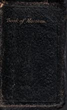 1908 Pocket Size Leather Book of Mormon
