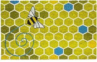 """Entryways Honeycomb Non- Slip Coconut Fiber Doormat 17"""" X 28"""" X .5 """""""