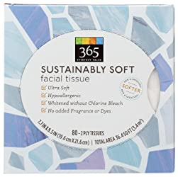 365 Everyday Value, Facial Tissue Sustainably Soft, 80 Count